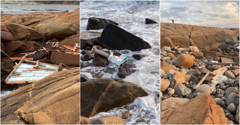 Flere store vrakrester er funnet på Kirkøy etter forliset på Tisler. Nå skal Miljøstiftelsen elv og hav rydde opp.