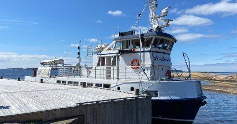 I august lanseres et helt nytt publikumstilbud til sjøs med ekskursjonsskipet M/S Ny Vigra III