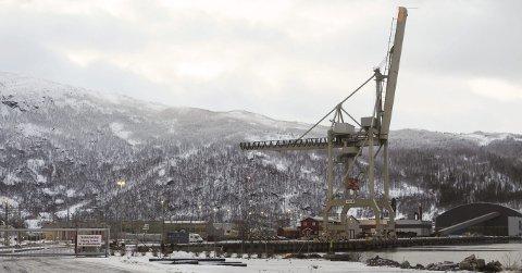 UTVIDER: Det planlegges nytt kaianlegg, en såkalt ro-ro-kai, til 35 millioner kroner på Fagernes. Fiskeridirektoratet og Nordland Fylkes Fiskarlag forutsetter at det blir gjort grep for å hindre spredning av plast og miljøgifter i havet.