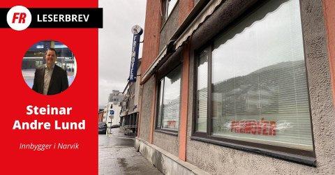 Steinar Andre Lund, innbygger i Narvik-