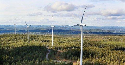 Dimensjoner: E. ON Wind Norway vil bygge til sammen mellom 40 og 45 vindkraftverk på Songkjølen og Engerfjellet, men kan bli stoppet av at kommunen har sagt nei.