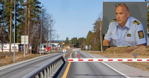 IKKE REIS: Stabssjef i Innlandet politidistrikt, Pål Erik Teigen sier at man belaster grensa unødvendig, ettersom man får kjøpt alle varer i Norge. Arkivfoto