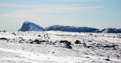 Snø på Valdresflye.