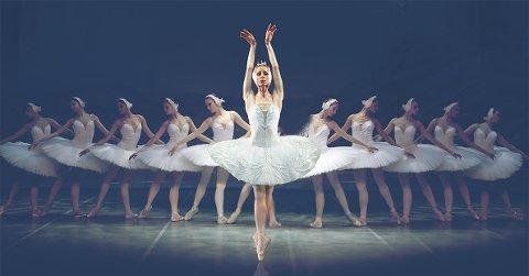 VAKKERT: Det blir vakker ballett med St. Petersburg Festival Ballett i Hamar kulturhus lødag. 1. desember.