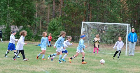 Populær turnering: Årets småbanecup i Eidfjord har 196 påmelde lag, for born og unge i alderen seks til 14 år.arkivfoto: Kristin Eide