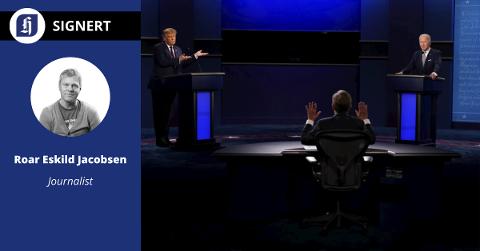 Denne ukens presidentkandidat-debatt ble et freakshow verden ikke har sett maken til.