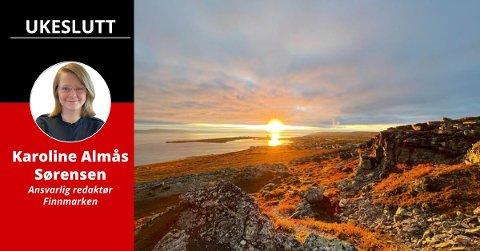 TAKTFAST: Mulighetene i Finnmark er enorme.