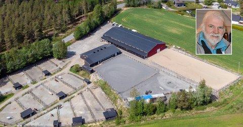 Pål Johnsrud selger ridesenteret på Harkerud for 12 millioner kroner.
