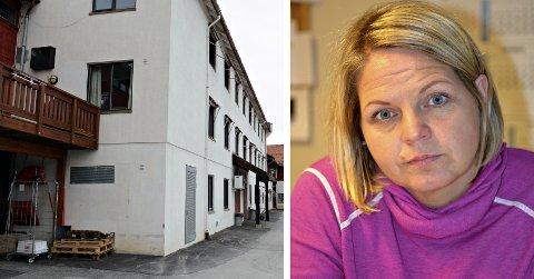 FORBEREDER:  Enhetsleder for helse og omsorg i Rollag kommune, Gro-Kristin L. Svingen, sier kommunen nå forbereder seg på å bygge opp en smitteavdeling på Rollag bygdeheim.
