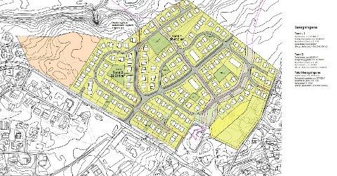 Detaljregulering av boligfeltet på Torvhaugan.