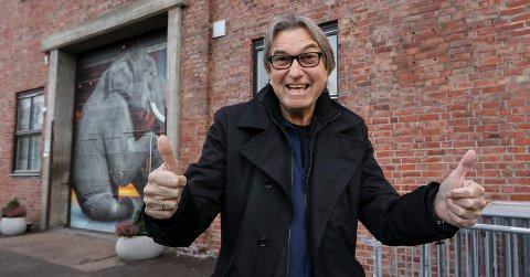 VERKET SCENE: Leder Stig Martinsen i Moss Bluesklubb er glad for endelig å kunne tilby mossingene blues igjen.