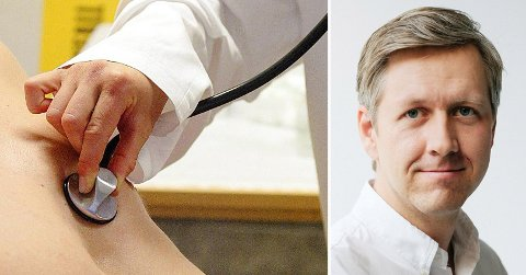 ÅPNER I TROMSØ: Mandag denne uken åpnet lege og daglig leder Nicolai Skarsgård i Hjemmelegene sitt første tilbud utenfor Oslo.