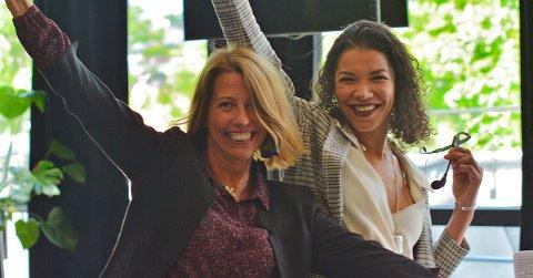 VINNERE: Solvor Øverli Magi og Maria Arlén Larsen bak selskapet Lifeness er årets sosiale entreprenører.