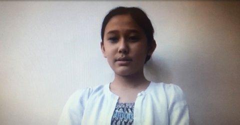VITNET: Hele familien vitnet i Farida-saken i Oslo torsdag, også 12-årige Farida.
