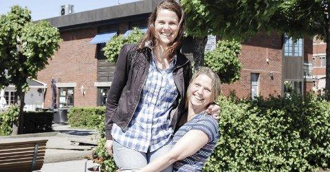 Opp og frem: – Det er viktig med sterk stemme fra Follo, sier Camilla Hille og løfter frem Solveig Schytz. foto: Solveig wessel