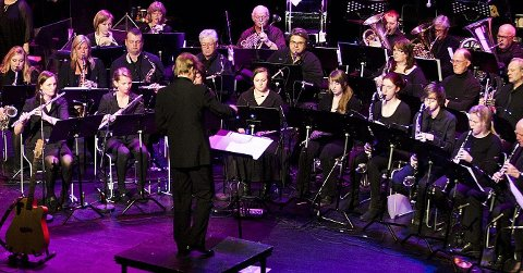 KORPS: Stavern- Agnes Musikkorps er en av mange aktører som vi ha deg til å komme på konsert i helgen.