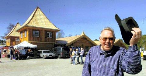 MYE BRA: Oddvar Neby med sitt Finnskogen Kro og Motell er en av flere bra sider ved Svullrya.