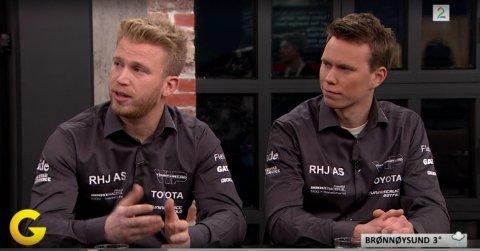 """PÅ TV-SKJERMEN: Tor-Anders Ringnes figurerte både på TV2-programmene """"God morgen Norge"""" og """"Gatebil"""" i går."""