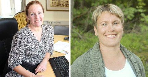 IKKE HOLDBART: Leder for Rakkestad Næringsråd, Anja Guerrera, og ordfører i Rakkestad, Karoline Fjeldstad, er ikke fornøyd med situasjonen slik den er i dag.