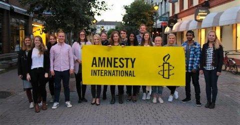 Den gamle Amnestygruppa ved HBV.