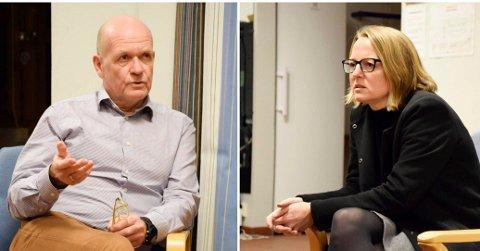 LOVLIG ELLER IKKE: FAU-leder Andrea Hatlinghus Søfting har fått høre fra skoleledere at de vil bryte lærernormen. - Det vil de ikke, svarer ordfører Syver Leivestad og viser til uttalelser fra rådmannen.