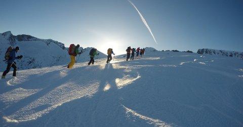 Et skikurs kan være en fin julegave.