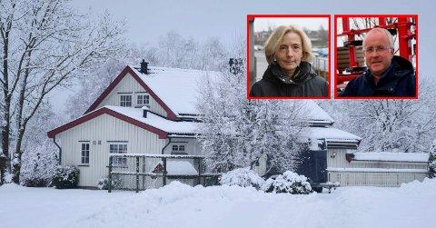 Må ikke flytte på gården: Et stort flertall av politikerne ga ekteparet Line Schi og Hans Petter Syllaas konsesjon på gården Oraug i Skjoldenveien i Askim. Men ekteparet må ikke flytte dit.