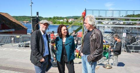 PIT Hans Petter Eliassen, Anette Röde Hagnell og Trond Hannemyr. Foto ELLEN ESBORG
