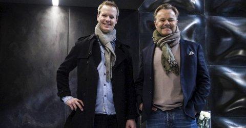 TV-REVOLUSJON: Bård Anders Kasin (t.v.) fra Notodden står foran et gjennombrudd sammen med  og Jens Petter Høili. (Foto: Future Group)