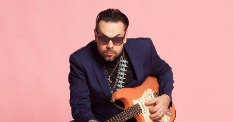 Kommer: Igor Prado fra Brasil kommer med bandet sitt til denne bluessøndagen