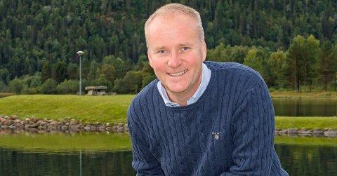 VIDARE: Olav Urbø opplyser at Sp vil fylgje opp saka om dårleg mobildekning.