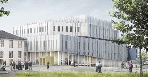 Forkjempere for nytt opera- og kulturhus i Kristiansund har sendt åpent brev til kulturministeren. Ill.: C.F. Möller