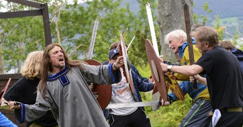 Dette er historien om Kong Håkon sammen med modige og smarte vikinger på Nordmøre som gikk i kamp mot Eirikssønnene og deres mange soldater fra danehæren som kom sørfra for å ta livet av kongen.