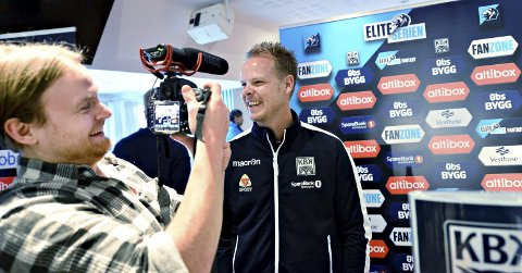 Smilets mann: Mange ville snakke med Christian Michelsen på Fotballforbundets kickoff mandag.