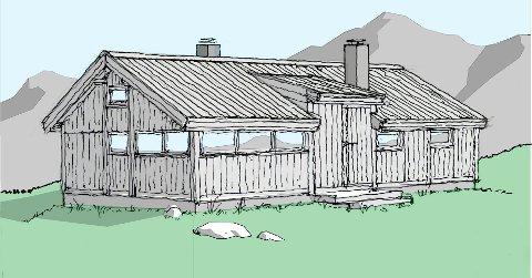 """Krav: """"Hytta skal underordne seg det lokale verneverdige bygningsmiljøet i størrelse og utforming, slik som vist på tegninger datert 24.5.2019 reviderte i samarbeid med regional bygningsvernrådgiver Odd Arne Rudi"""", skriver Langsua nasjonalparktyre."""