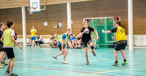 VIL FOSTRE TALENTER: En ny flerbrukshall vil bety mye, både for breddeidretten og for elever som satser på toppidrett, mener tilhengerne. Bildet er fra finalen i ungdomsskolemesterskapet mellom mellom Ås og Vestby (i gule overtrekk) i håndball i 2018.
