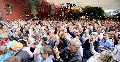 VELDIG POPULÆR: Foynhagen, med tilliggende The Sense, er ikke bare en meget populær konsertarena. I 2017 solgte de også rekordmye mat og drikke.