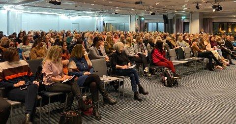350 kvinner troppet torsdag kveld opp på Radisson Blu for å lære mer om å forvalte kapitalen smartere.