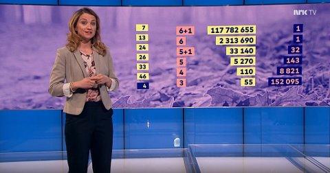 En nordmann ble 117 milioner kroner rikere i Vikinglotto onsdag.