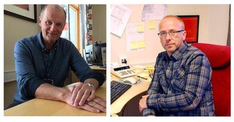 Einar Hauge, kommunedirektør i Nordkapp og Børge Grønlund, assisterende rådmann er de som har behandlet denne klagen.