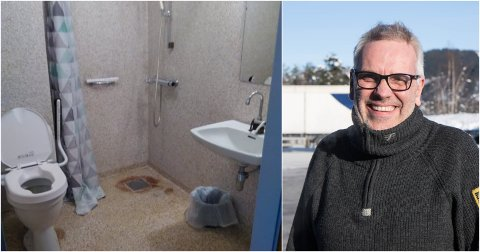 VIL BIDRA: Pål-Arthur Johannesen vil donere 10.000 kroner til oppussing av pensjonistheimen. Han håpar fleire heng seg på.