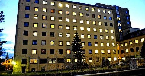 Hva nå? Det er fortsatt uvisst hva som konkret vil skje i og rundt de gamle sykehusbygningene.arkivfoto: geir a. carlsson