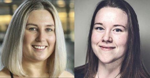Eva Victoria Øygard, Studentleder ved Høgskolen i Østfold og Marianne Dahl, styreleder for Studentsamskipnaden i Østfold.