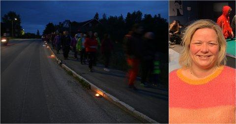 AVLYSES: Veronica Stokkvold og resten av arrangørene til Elvelangs Vigga må avlyse årets arrangement.