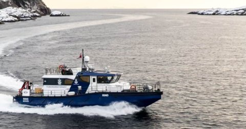 "OMDIRIGERT TIL ØST-FINNMARK: Sjøtjenesten i Fiskeridirektoratet sin patruljebåt, ""Rind"", skal kontrollere hvalfangsten i østfylket."