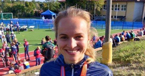 NM-bronse: Åsne Skram Trømborg overrasket i NM i knockout-sprint. FOTO: PRIVAT