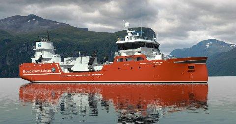 """NY BÅT: Den nye brønnbåten vil få navnet """"Skrova"""""""