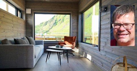 - Vi tenkte å ta minihus-tankegangen over til rorbu, sier utbygger Trond Ketil Nilsen, daglig leder i Hemmingodden AS.