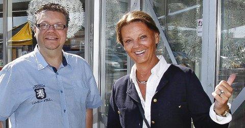 TILFREDSE: – Dette blir bra for mange og gjør godt for regionen, sier Ulf Leirstein og Ingjerd Schou.