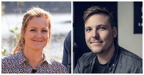 Siri Kristiansen og Niklas Baarli er blant de som ligger et stykke oppe på listen over kjendisene i mossedistriktet som tjente mest i fjor.